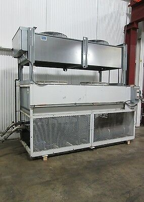 GCI Icewagon Chiller & BOHN Air-Cooled Condenser - Used - AM15846 & AM15847