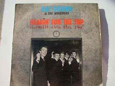 """Ray Brown & The Whispers """"Headin' For The Top"""" vinyl LP"""