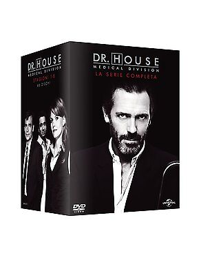 Dr. House - Medical Division - Stagioni 1-8 (46 DVD) - ITALIANO SIGILLATO -