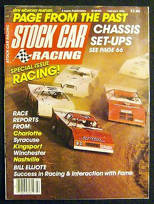 STOCK CAR RACING Magazine February 1986 Special Racing Issue