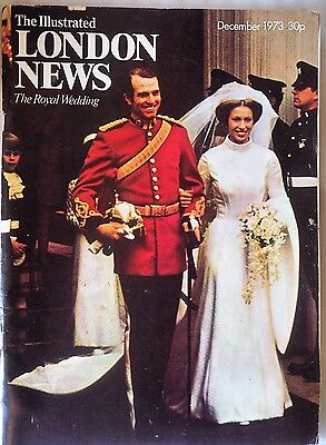 Illustrated London News December 1973 Royal Wedding Princess Anne Mark Phillips