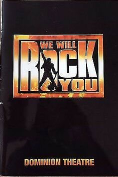 We Will Rock You - Official Programme 2005