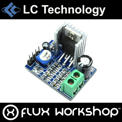 LC Technology TDA2030A Single Channel Audio Amplifier Module kHz Flux Workshop