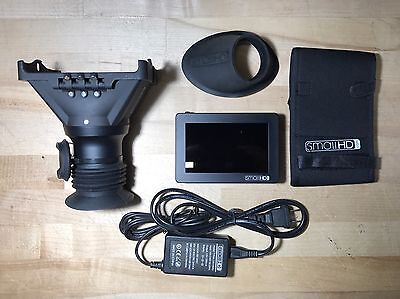 "SmallHD DP4 4.3"" LCD Camera Field Monitor w/ EVF & Extras"