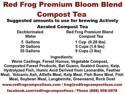20 lbs PREMIUM Blend Organic Worm Castings & Finest Nutrients in Compost Tea
