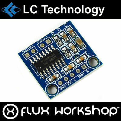 LC Technology PAM8403 6W Dual Channel Audio Amplifier Module 2x3W Flux Workshop