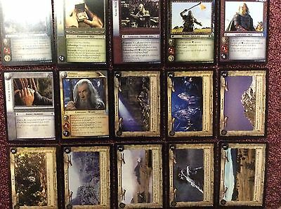 Pack 15 Rare Cards Lord of the Rings 11 Shadows LOTR Decipher 11r171