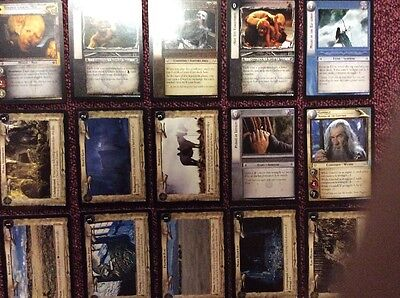 Pack 15 Rare Cards Lord of the Rings 11 Shadows LOTR Decipher 11r100