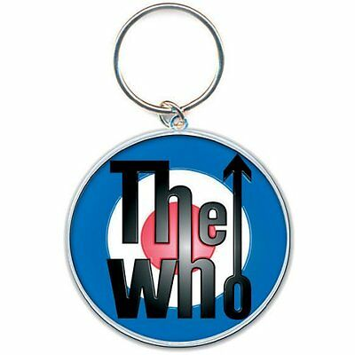 THE WHO STANDARD KEY RING: TARGET NEW BAGGED Official Merchandise