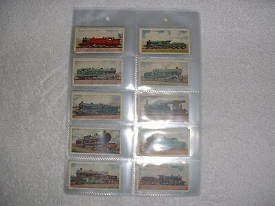 Railway Engines Cigarette Cards.