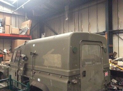 Military Land Rover Wolf Defender 110 Hard Top Fibreglass Roof - Very Rare