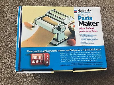 Mastronics Stainless Steal Pasta Maker