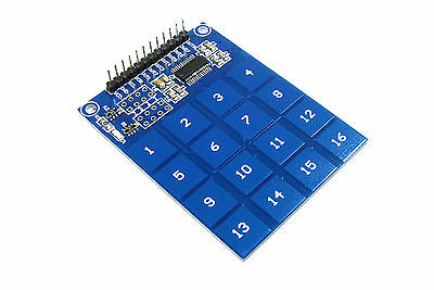 LC Technology TTP229 16 Channel Touch Sensor Module Keypad Switch Flux Workshop