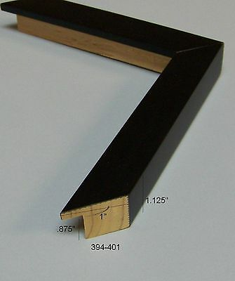 Black square NEW modern PICTURE FRAME Moulding PHOTO wood
