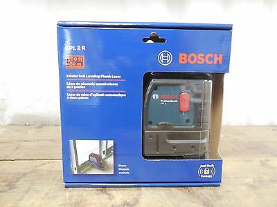 Bosch Gpl 2 R 2-Point Self-Leveling Plumb Laser