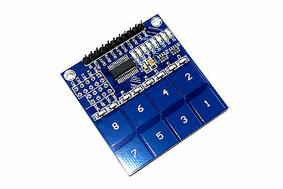 LC Technology TTP226 8 Channel Touch Sensor Module Keypad Switch Flux Workshop