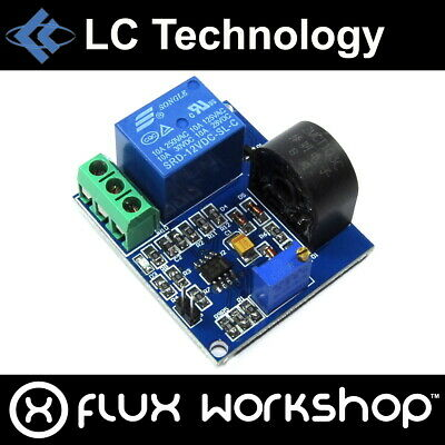 LC Technology 5A Over-current Protection Relay Module ZMCT103C 12V Flux Workshop