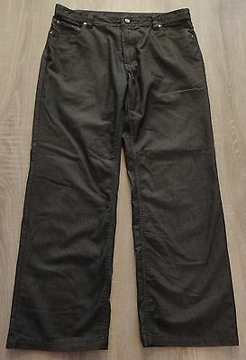 Men's Grafton & CO. Casual Pants Gray New Condition Classic Rise Size 34 X 30