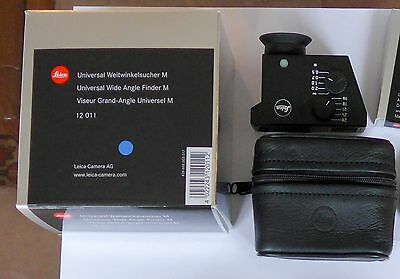 Leica Universal Wide Angle Finder M 12011 Tri-Elmar  WATE - PLEASE SEE LISTING!