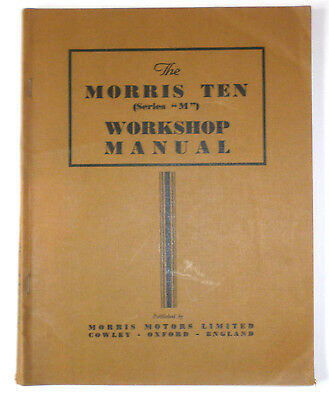 Morris Ten Workshop Manual - Series M