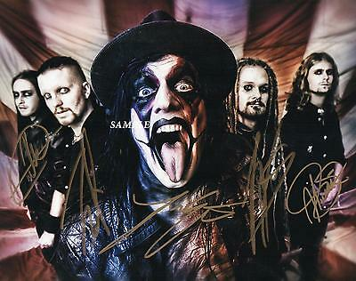 Avatar Band #1 Reprint Autographed Signed Picture Photo Collectible 8X10 Rp
