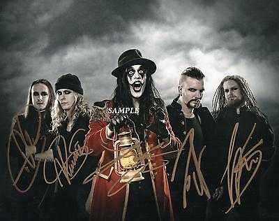 Avatar Band #2 Reprint Autographed Signed Picture Photo Collectible 8X10 Rp