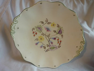 vintage old foley bone china bread and butter plate VGC