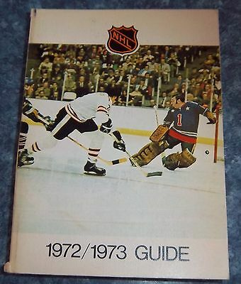 Official NHL  Guide 1972-73 Phil Esposito National hockey League