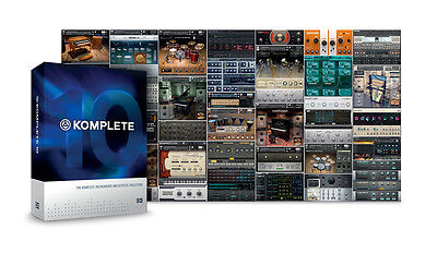 Native Instruments Komplete 10 crossgrade (cheap way to get Komplete11)