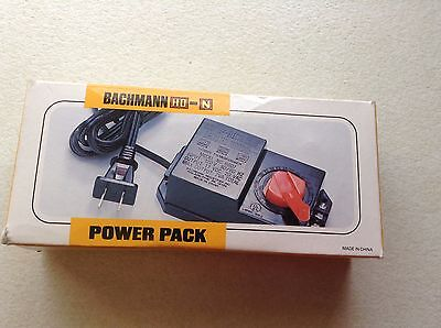 HO Scale Bachmann #44207 Power Pack [also works with G & N Scale] model trains