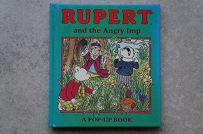 RUPERT and the Angry Imp - Pop Up Book - 1994 - Excellent Condition