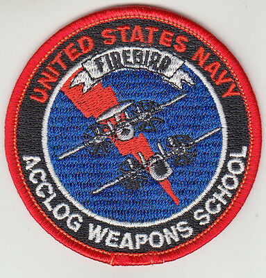 Us Navy Acclog Weapons School Shoulder Patch