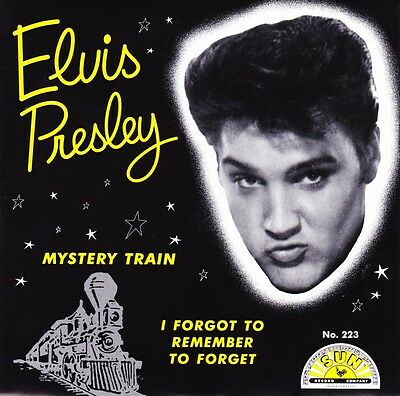 "Elvis Presley - Mystery Train / I Forgot To Remember - 7"" US Red Vinyl 45 - New"