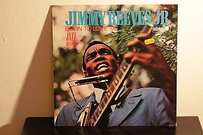 Jimmy Reeves Jr. - Born To Love Me  Rare Lp D 1970!!!