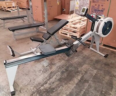 Concept 2 model e rower with pm4