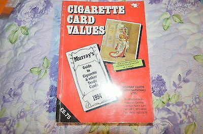 Cigarette Card Values 1994 - Murray Guide To Cigarette & Other Trade Cards