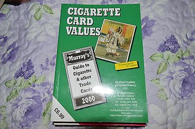 Cigarette Card Values 2000 - Murray Guide To Cigarette & Other Trade Cards