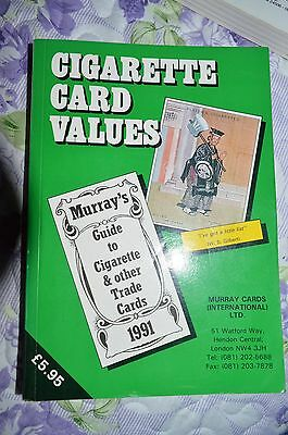 Cigarette Card Values 1991 - Murray Guide To Cigarette & Other Trade Cards