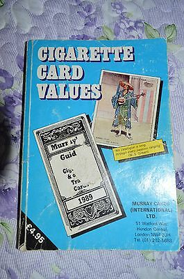 Cigarette Card Values 1989 - Murray Guide To Cigarette & Other Trade Cards