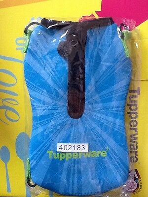 Tupperware H20 On the Go 1L Bottle Pouch / Cover in Blue (1), NEW, Free Postage