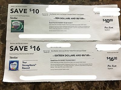 One High Value $16 Similac Coupon Check With Bonus
