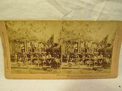 Vintage Stereoveiw Card Of The Philippine Insurrection