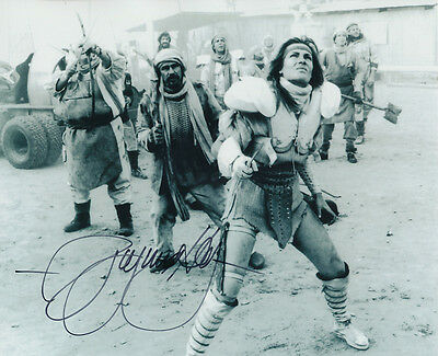 Virginia Hey SIGNED photo - J432 - Mad Max 2: The Road Warrior