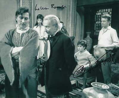 William Russell and Carole Ann Ford SIGNED photo - J329 - Doctor Who