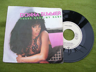 """DONNA SUMMER """" There goes my baby / Maybe it's over """" WEA 1984"""