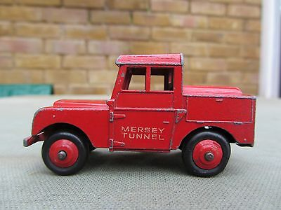 Vintage Dinky toys 255 Mersey Tunnel police Land Rover