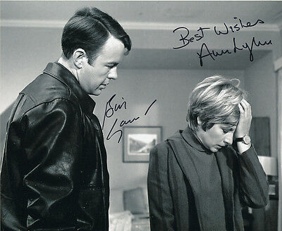 William Gaunt and Ann Lynn SIGNED photo - J294 - The Champions