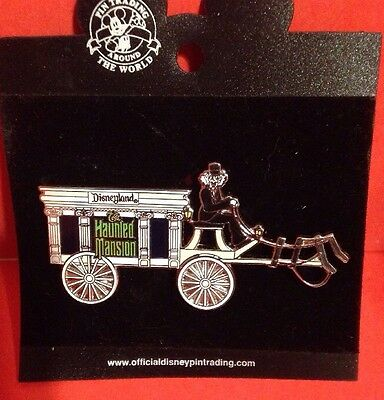 DISNEY PIN THE HAUNTED MANSION HORSELESS CARRIAGE EXCLUSIVE Trading Pin