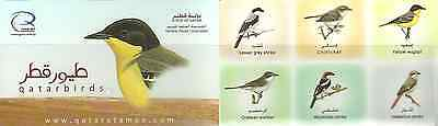 Qatar = 2009 Birds One  Booklet - Free Air Mail