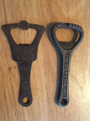 VINTAGE BOTTLE OPENERS (CORONA) And BELL BEAR SUPER RARE